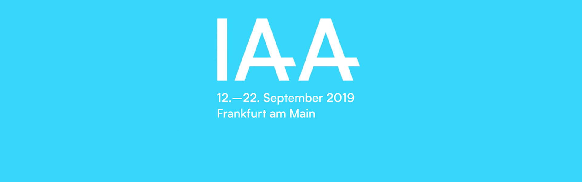 IAA 2019: Erfolg hat nur, wer den Dreisprung Elektrifizierung, Digitalisierung und Neue Mobilität schafft.